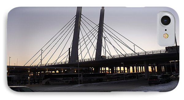 East End Bridge Phone Case by David Bearden