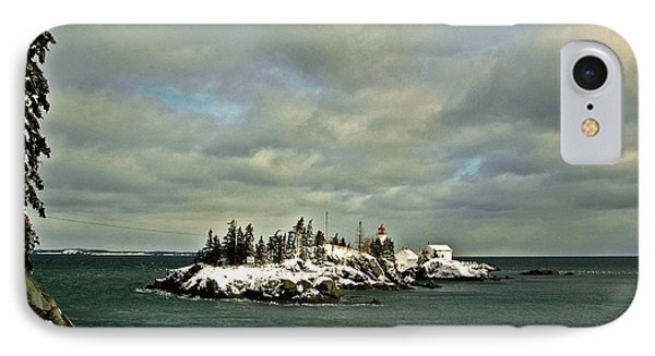 East Quoddy Lighthouse Phone Case by Alana Ranney