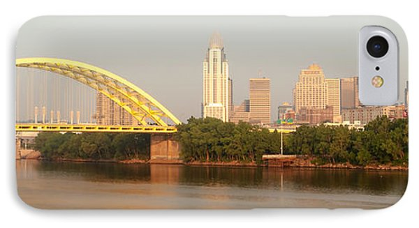 East Side Pano Phone Case by Keith Allen