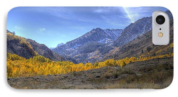 Eastern Sierras In Fall IPhone Case by Michele Cornelius