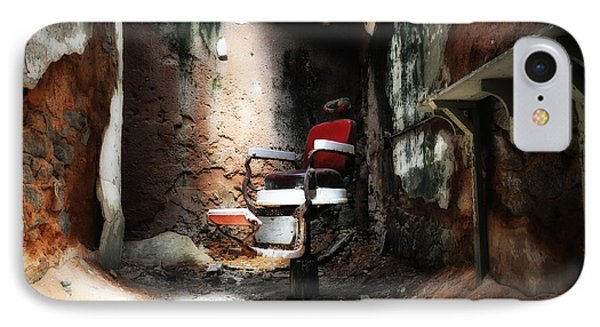 Eastern State Penitentiary - Barber's Chair Phone Case by Bill Cannon