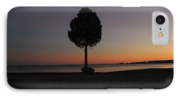 IPhone Case featuring the photograph Eastern Sunset And Moon Rise by Bruce Carpenter