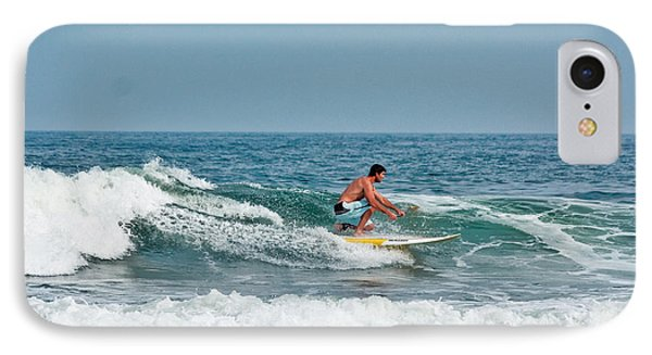 IPhone Case featuring the photograph Easy Surfing  by Ann Murphy