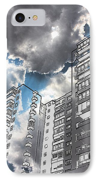 Ecological Architecture IPhone Case by Angel Jesus De la Fuente