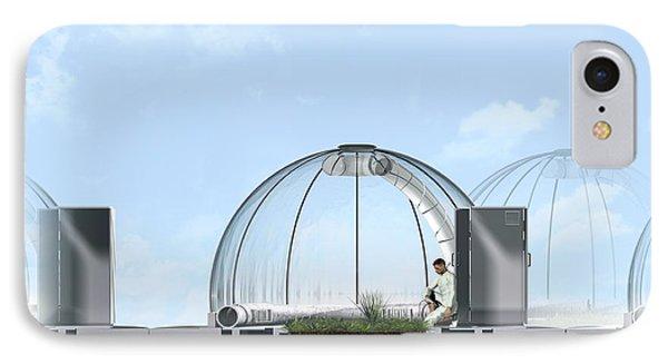 Ecotron Project, Artwork Phone Case by Claus Lunau