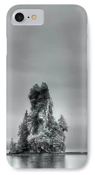 Eddystone Rock Misty Fjords National Monument Alaska IPhone Case