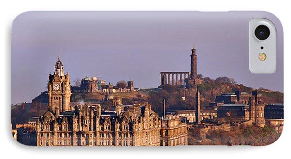 Edinburgh Scotland - A Top-class European City Phone Case by Christine Till