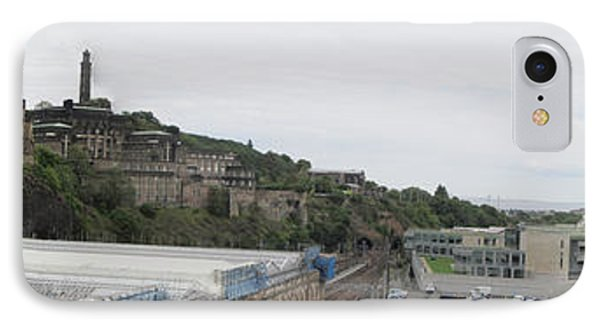 Edinburgh Station Panorama IPhone Case