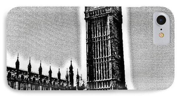 Edited Photo, May 2012 | #london IPhone Case by Abdelrahman Alawwad