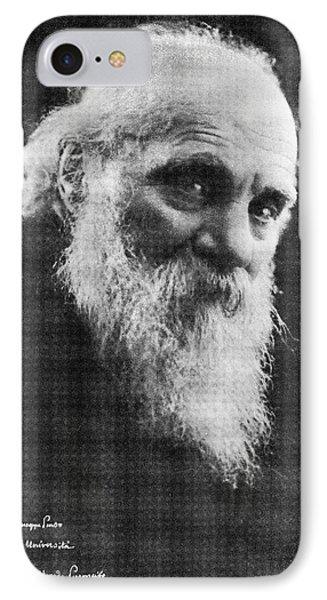 Edoardo Perroncito, Italian Physician Phone Case by