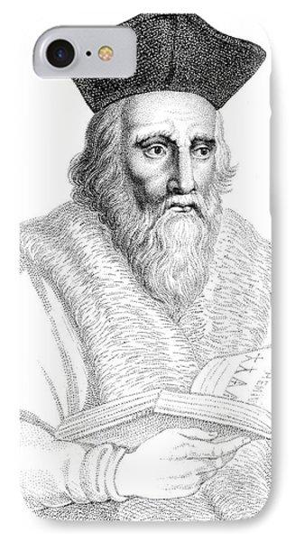 Edward Kelley, English Alchemist Phone Case by Science Source