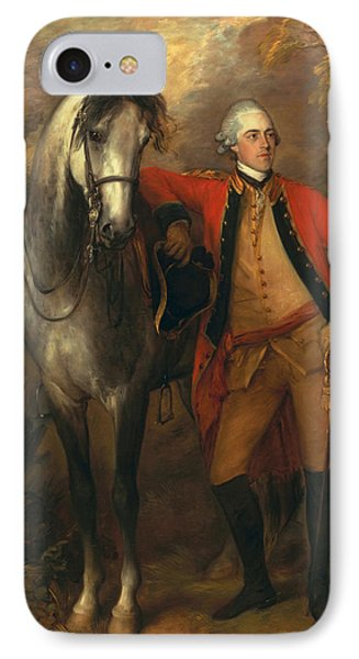 Edward Viscout Ligonier IPhone Case by Thomas Gainsborough