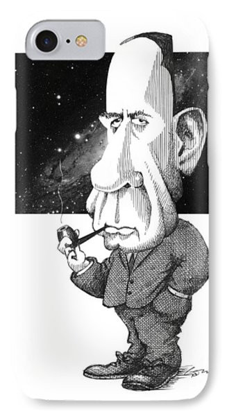 Edwin Hubble, Us Astronomer Phone Case by Gary Brown