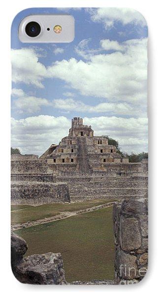 Edzna Mayan Ruins Phone Case by John  Mitchell