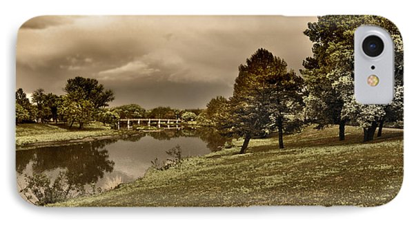 IPhone Case featuring the photograph Eery Day by Brian Duram