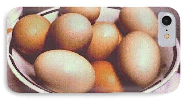 Eggs IPhone Case by Micah Mulinix