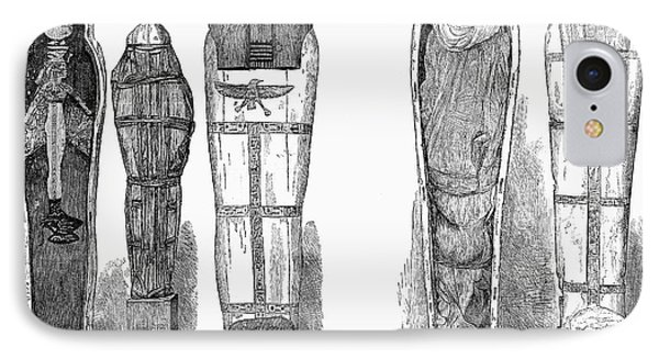 Egypt: Royal Mummies, 1882 IPhone Case by Granger