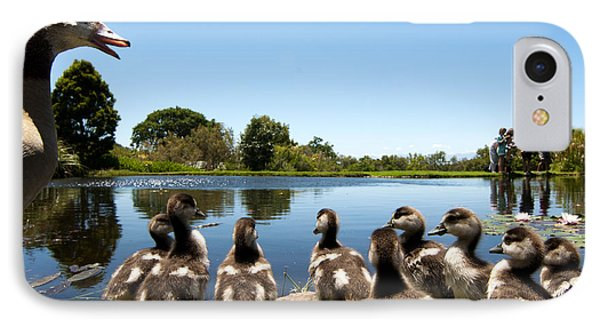Egyptian Geese Phone Case by Fabrizio Troiani