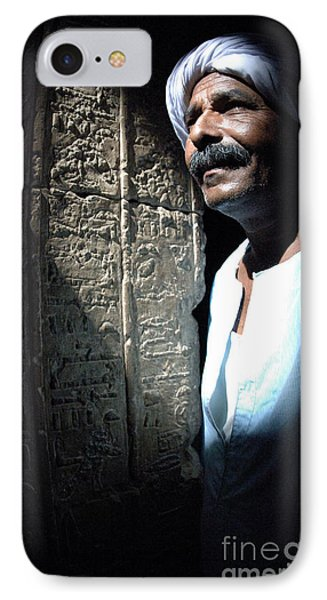 Egyptian Portrait 2 IPhone Case by Bob Christopher
