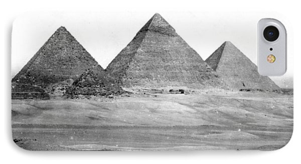 Egyptian Pyramids - C 1901 IPhone Case by International  Images