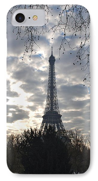 IPhone Case featuring the photograph Eiffel In The Morning by Eric Tressler