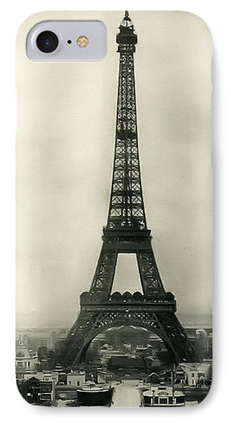 Eiffel Tower 1890 Phone Case by Bill Cannon