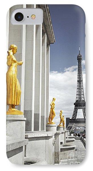 Eiffel Tower From Trocadero Phone Case by Elena Elisseeva