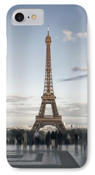 Eiffel Tower Paris Phone Case by Melanie Viola