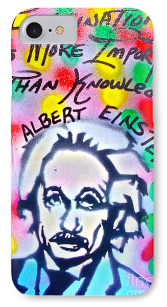 Einstein Imagination IPhone Case