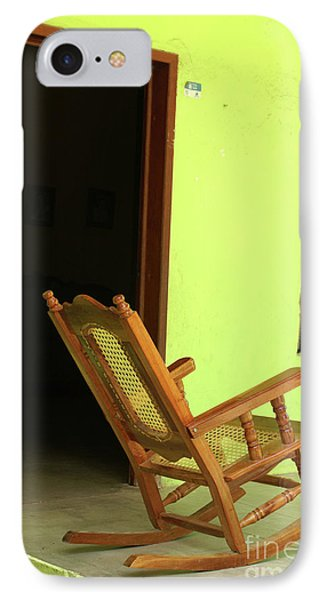 El Quelite Rocking Chair Mexico IPhone Case by John  Mitchell