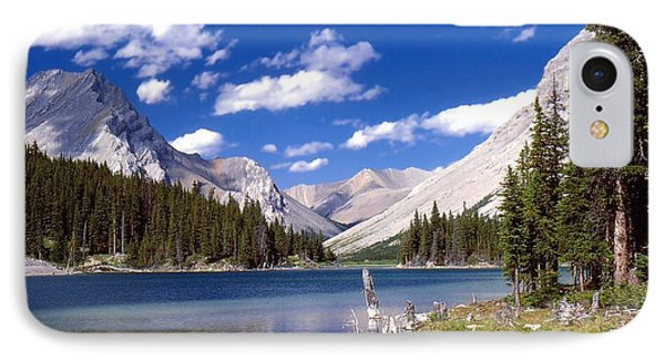 Elbow Lake IPhone Case by Jim Sauchyn