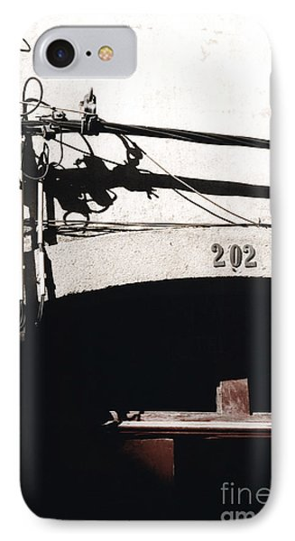 IPhone Case featuring the photograph Electric Cables by Agnieszka Kubica