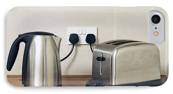 Electric Kettle And Toaster Phone Case by Johnny Greig
