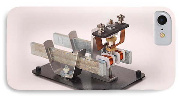 Electric Motor Phone Case by Ted Kinsman