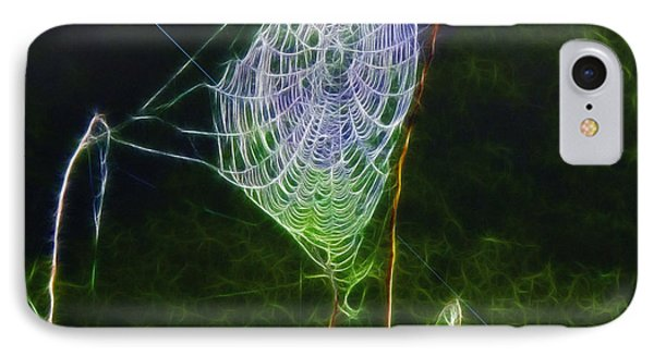 Electric Web In The Fog IPhone Case by EricaMaxine  Price