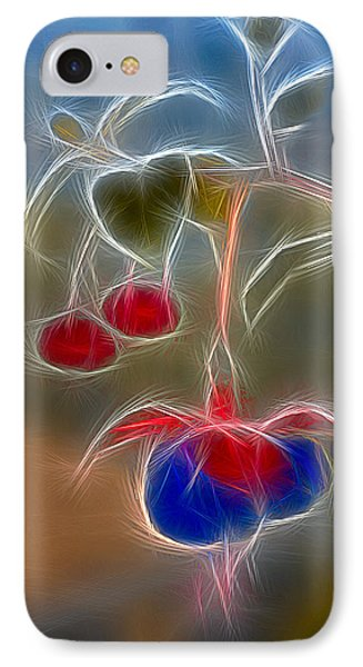 Electrifying Fuchsia Phone Case by Susan Candelario