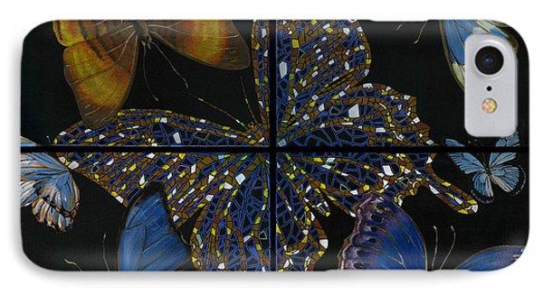 Elena Yakubovich Butterfly 2x2 IPhone Case by Elena Yakubovich