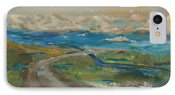 Elkhorn Slough Phone Case by Gail Daley