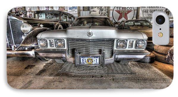 Elvis' Cadillac IPhone Case by Nicholas  Grunas