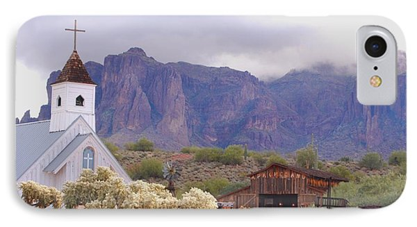 IPhone Case featuring the photograph Elvis Memorial Chapel by Tam Ryan
