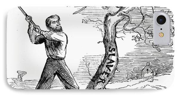 Emancipation Cartoon, 1862 Phone Case by Granger
