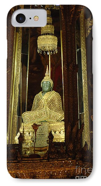 Emerald Buddha Grand Palace IPhone Case by Bob Christopher