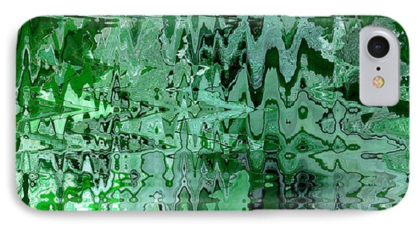 Emerald City - Abstract Art IPhone Case