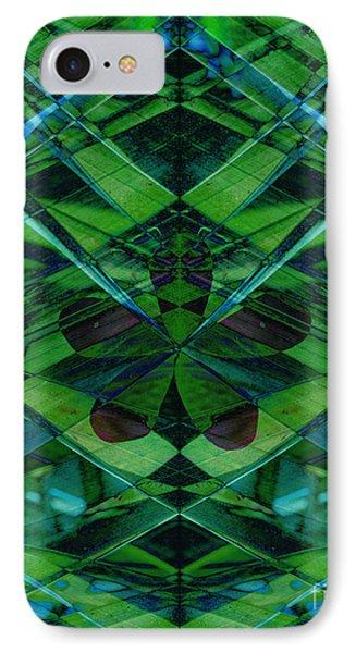 Emerald Cut Phone Case by Ann Powell
