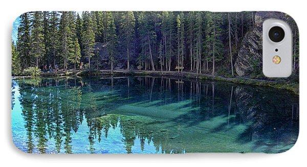 Emerald Mountain Pond Phone Case by Jo-Anne Gazo-McKim