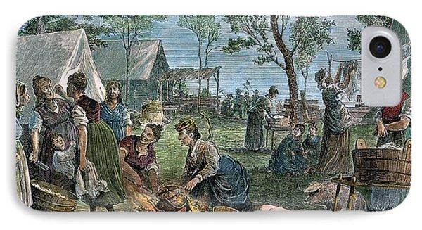 Emigrants: Arkansas, 1874 Phone Case by Granger