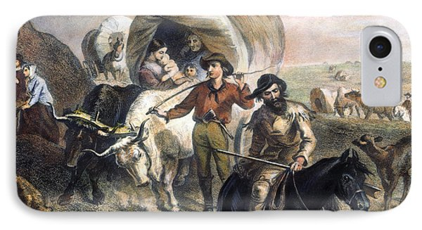 Emigrants To West, 1874 Phone Case by Granger