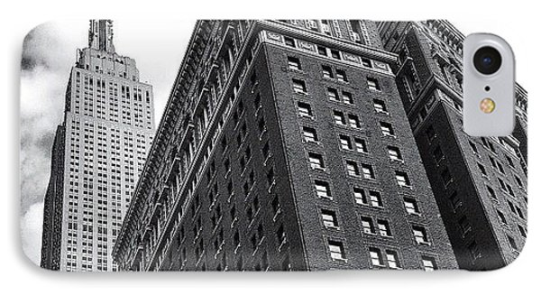 Empire State Building - New York City IPhone Case by Vivienne Gucwa
