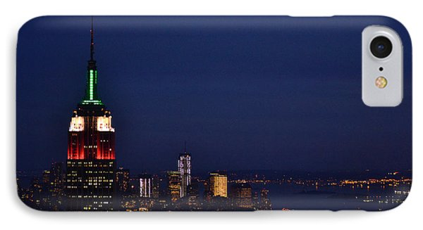 Empire State Building3 IPhone Case by Zawhaus Photography
