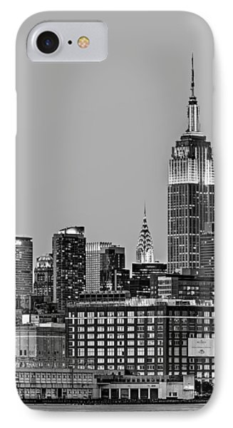 Empire State Bw Phone Case by Susan Candelario